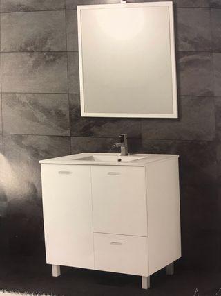 Conjunto baño de 80 cm