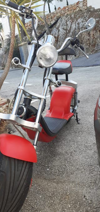 Patinete-Scooter Electrico modelo Harley 1200W