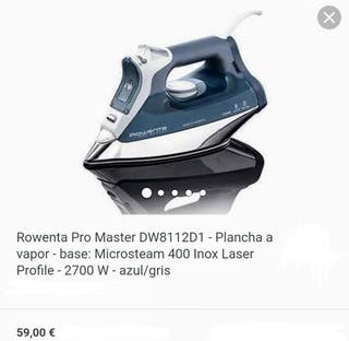 Rowenta Pro Master - Plancha a vapor