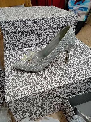 zapatos fiesta novia cenicienta