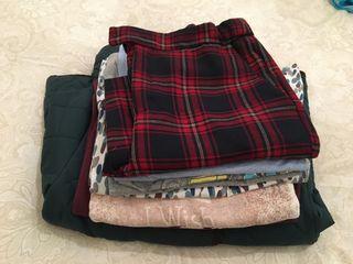 Lote ropa niña Talla 12 niña invierno