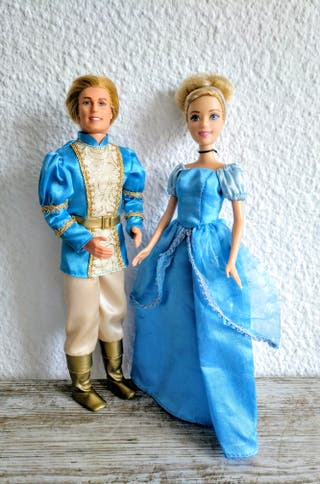 Barbie y Ken príncipes