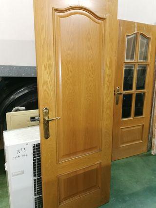 puertas de roble