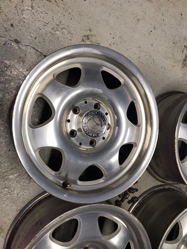 "Llantas originales Mercedes 15"""