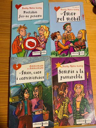 4 libros de literarura juvenil