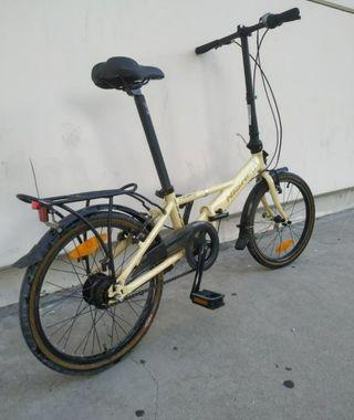 Bicicleta nishiki plegable