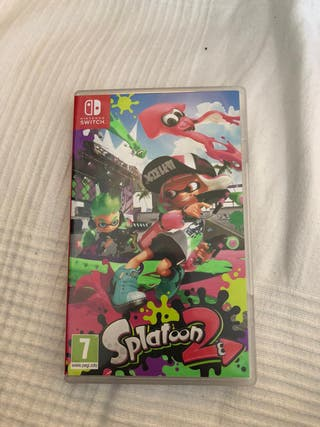 Juego Nintendo switch splatoon 2