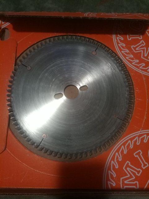 Disco para aluminio de ingletadora