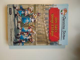 """Libro: Gerónimo Stilton """"Los tres mosqueteros"""""""