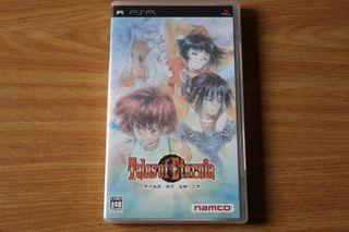 Tales of Eternia PSP Japones