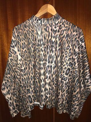 Sudadera leopardo mujer Zara