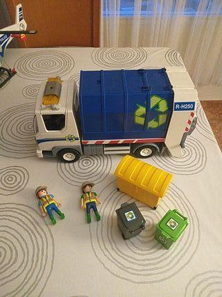 camión basura con luces Playmobil