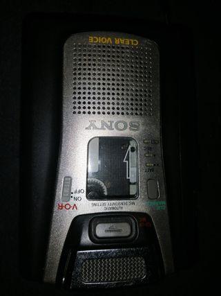 grabadora walkman de voz cassette Sony tcm-465v