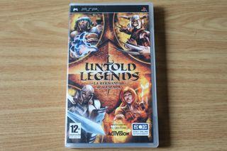 Untold Legends PSP PAL España