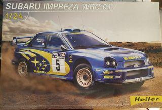 Maqueta Subaru Impreza WRC'01