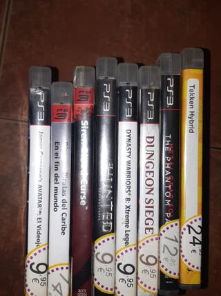 Pack de juegos para playstation3