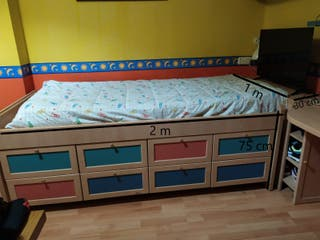Mueble cama + zapatero