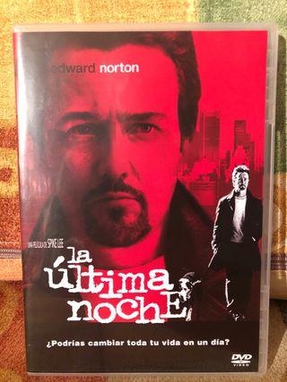 La última noche - dvd - spike lee - norton