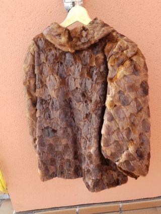 chaquetón de nuca de vison