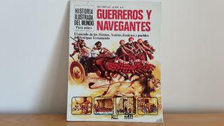 Libro infantil Guerreros y Navegantes