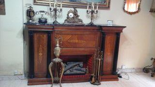 mueble bar chimenea francesa