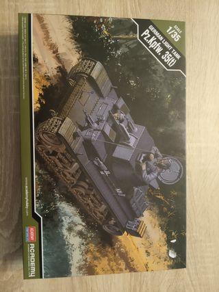 Maqueta tanque panzer Pz.Kpfw t35 1:35