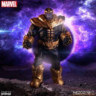 Thanos Figura con luz 1/12 Mezco ONE 12 Marvel
