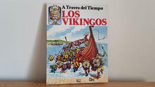 Libro infantil Los Vikingos