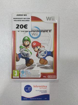Videojuego Nintendo Wii Mario Kart Wii