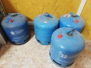 botellas camping gas