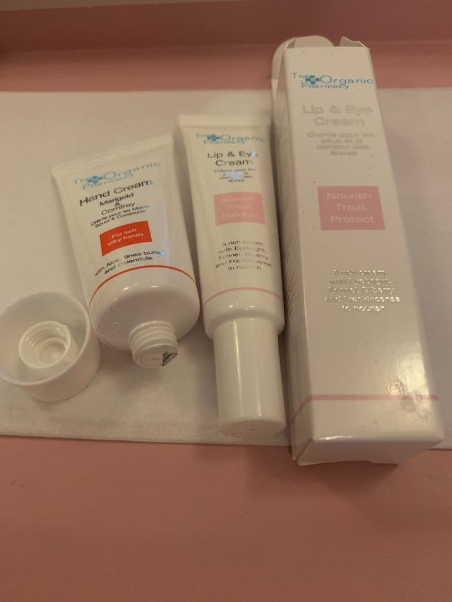 The Organic Pharmacy Lip & Hand Cream