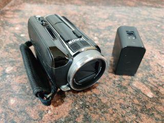 cámara de video y foto jvc con disco duro sin uso