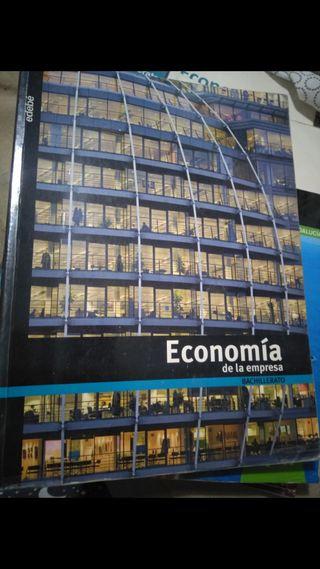 Libro Economía de la empresa 2 bachillerato edebé