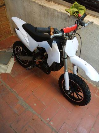 mini moto de Cross de 49 cc sin marchas