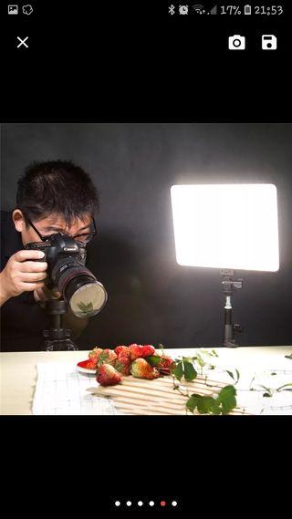 luz de estudio fotografico