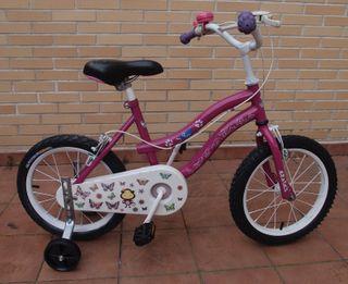 Bicicleta niña 16 Pulgadas