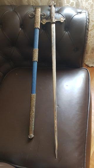 espada masónica antigua siglo antiguo