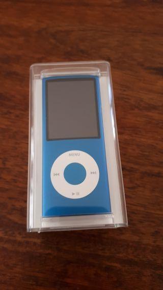 iPod nano 8GB azul nuevo. Sin estrenar.