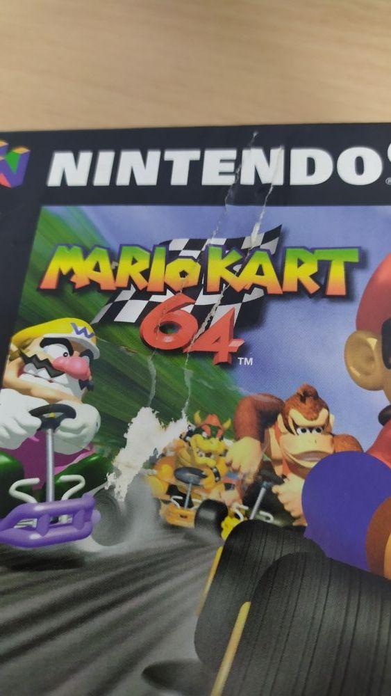 Mario Kart 64 para consola Nintendo 64