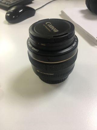 Objetivo Canon 50mm 1:1.4