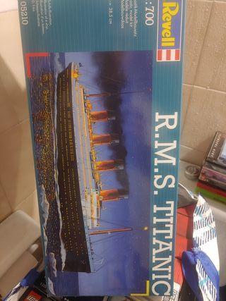 Maqueta R.M.S. Titanic ¡¡NUEVA!! Kit Modelo REVELL
