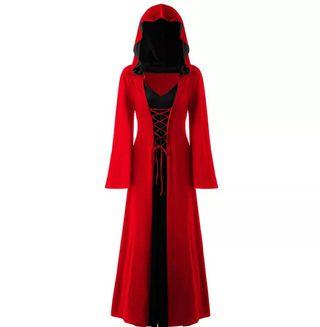 disfraz túnica con capucha