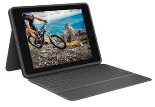 Logitech Rugged Folio funda con teclado iPad Nueva