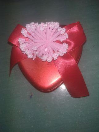 Caja corazón para joyería
