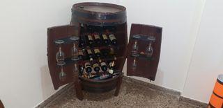 botellero barrica artesanal