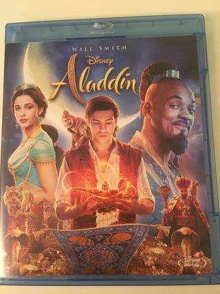 Película Aladin en blu ray