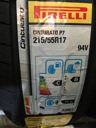 neumaticos 215/55 r17 94v pirelli p7
