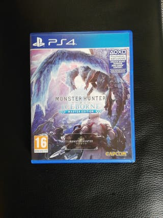 Monster Hunter World: Iceborne Master Edition ps4
