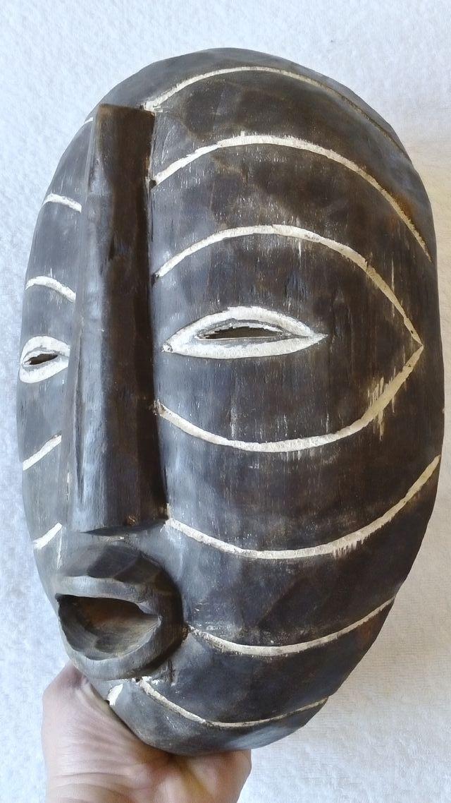 MÁSCARA AFRICANA REP. POP. CONGO