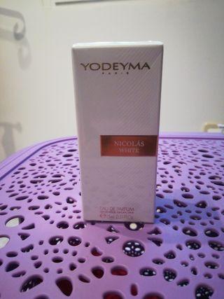 Nicolás White mini perfume mujer